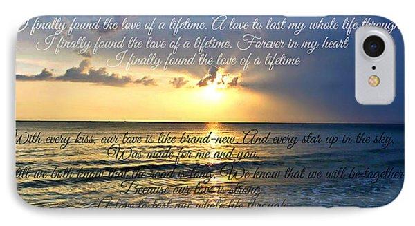 Love Of A Lifetime IPhone Case by Cyryn Fyrcyd