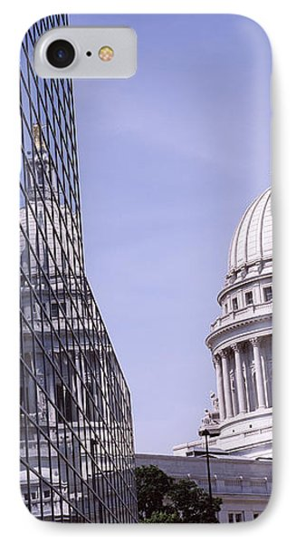 Low Angle View Of A Government IPhone Case by Panoramic Images