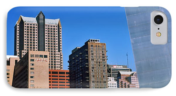 Low Angle View Of Buildings, Hyatt IPhone Case by Panoramic Images