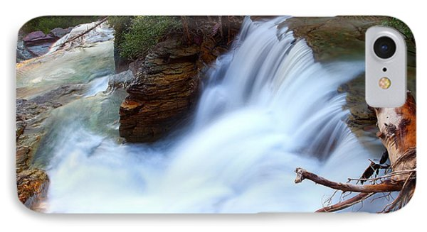 IPhone Case featuring the photograph Lower Virginia Cascades by Aaron Whittemore