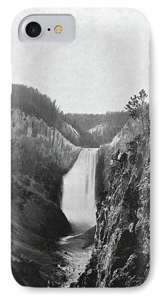 Lower Yellowstone Falls IPhone Case by Granger