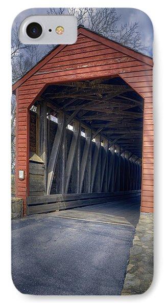 Loys Station Covered Bridge II IPhone Case