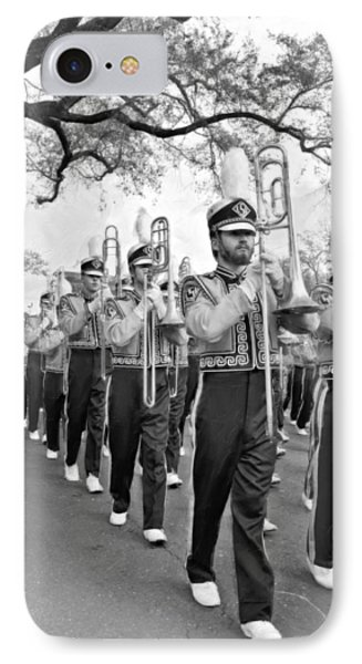 Lsu Marching Band Vignette Phone Case by Steve Harrington