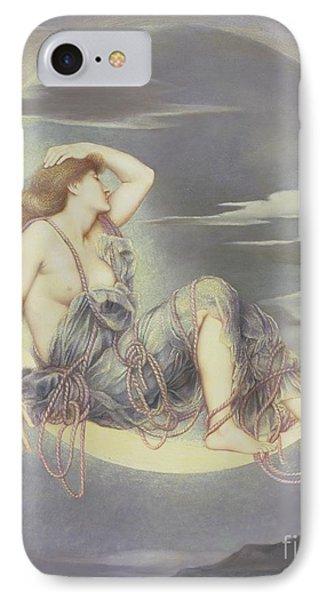 Luna Phone Case by Evelyn De Morgan
