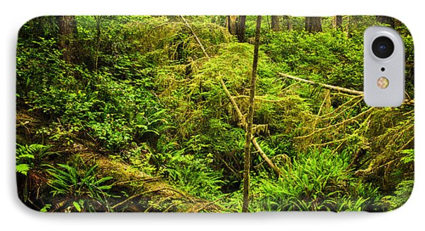 Lush Temperate Rainforest IPhone Case