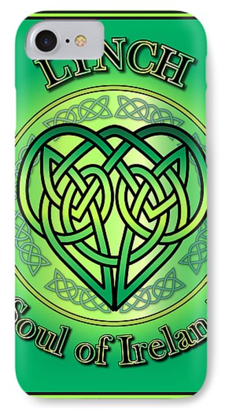 Lynch Soul Of Ireland IPhone Case by Ireland Calling