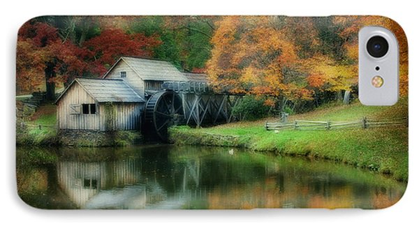 Mabry Mill IPhone Case by Joan Bertucci