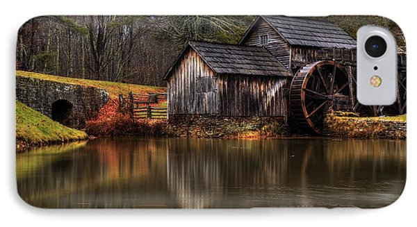 Mabry Mill IPhone Case by Robert Loe