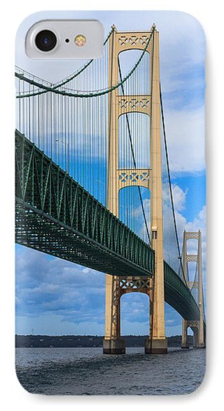 Mackinac Bridge Phone Case by Cindy Lindow