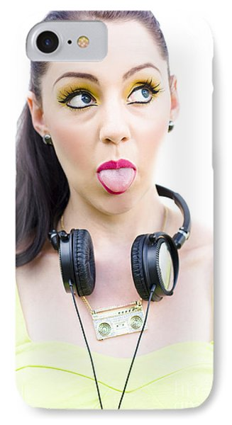 Mad About Music IPhone Case by Jorgo Photography - Wall Art Gallery