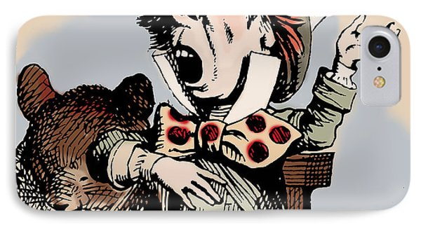 Mad Hatter Color IPhone Case by John Tenniel