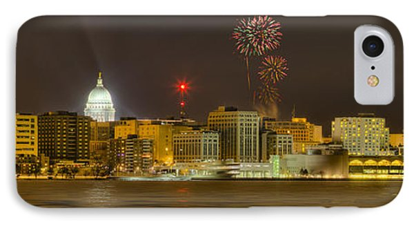 Madison New Years Eve IPhone Case by Steven Ralser