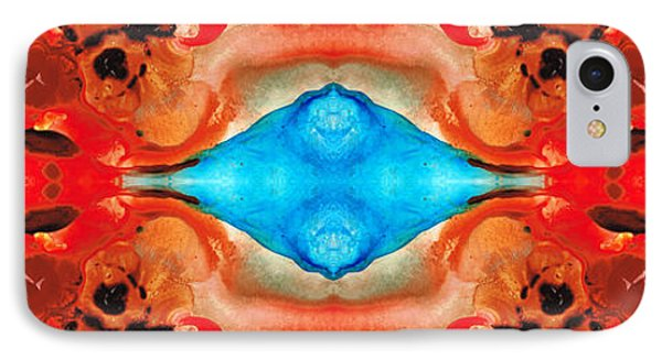 Magic Mirror - Abstract Art By Sharon Cummings IPhone Case by Sharon Cummings