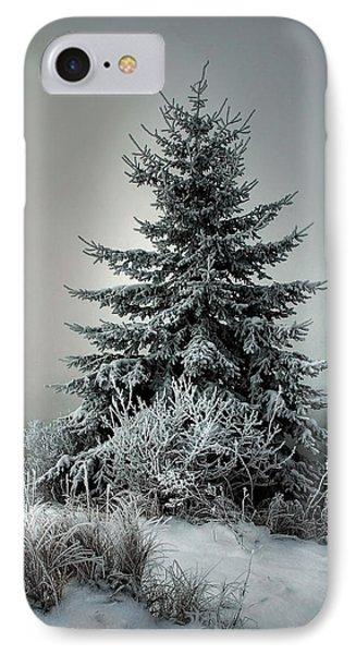 Majestic Winter Phone Case by Heather  Rivet