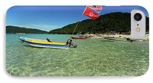 Malaysia, Perhentian Islands IPhone Case by Anthony Asael