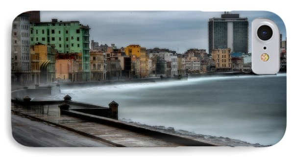 Malecon IPhone Case by Patrick Boening