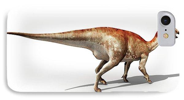 Mantellisaurus Dinosaur IPhone Case by Jose Antonio Pe�as