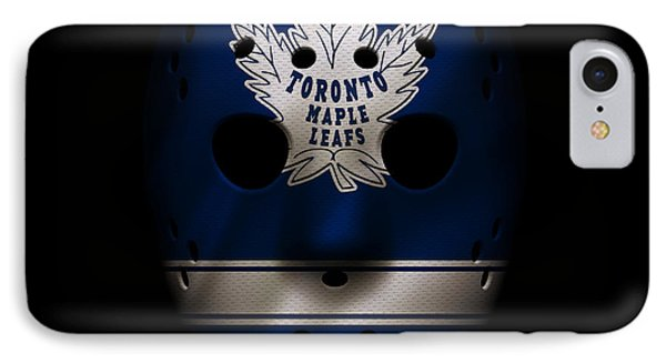 Maple Leafs Jersey Mask IPhone Case