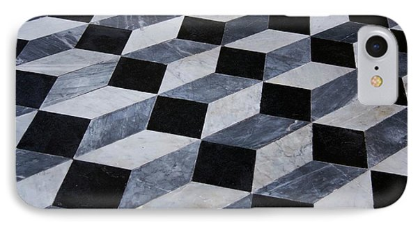 Marble Patterned Floor IPhone Case