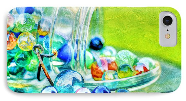 Marbles Phone Case by Darren Fisher