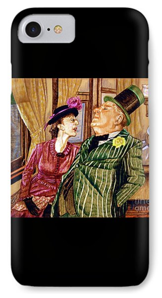 Margaret And W.c. Fields IPhone Case