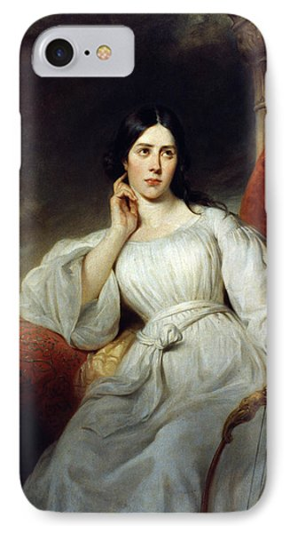 Maria Malibran (1808-1836) IPhone Case