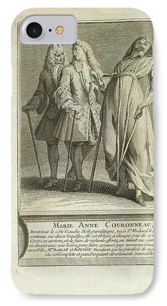 Marie Anne Couronneau IPhone Case by British Library