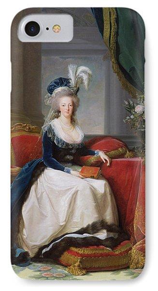 Marie Antoinette IPhone 7 Case by Elisabeth Louise Vigee-Lebrun