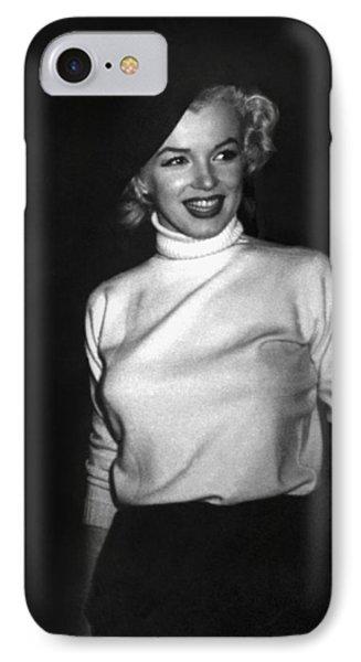 Marilyn Monroe In Korea IPhone Case