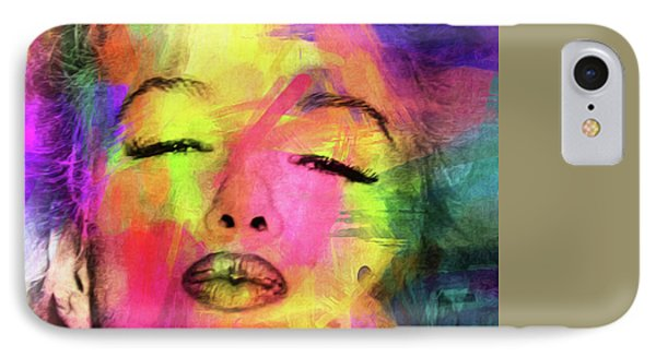 Marilyn Monroe IPhone Case by Mark Ashkenazi