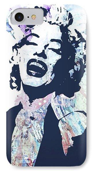 Marilyn Phone Case by Trisha Buchanan