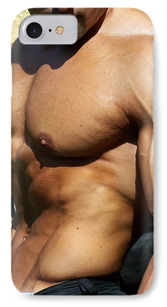 IPhone Case featuring the photograph Marius Muscle Art by Jake Hartz