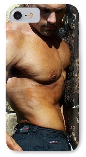 IPhone Case featuring the photograph Marius   The Art Nude by Jake Hartz