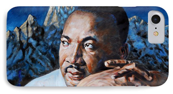 Martin Luther King Phone Case by John Lautermilch