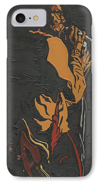 IPhone Case featuring the painting Martin Luther Mccoy by Rachel Natalie Rawlins