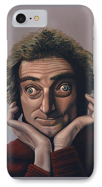 Marty Feldman IPhone Case by Paul Meijering