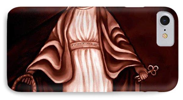 Mary IPhone Case by Carmen Cordova
