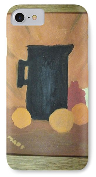 IPhone Case featuring the painting #1 by Mary Ellen Anderson