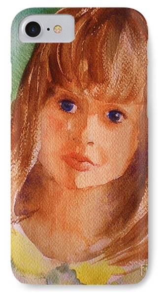 Mary's Little Girl IPhone Case by Suzanne McKay
