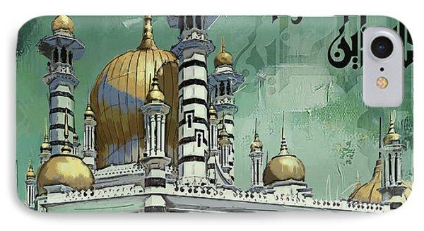 Masjid Ubudiah Phone Case by Corporate Art Task Force