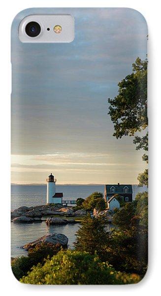 Massachusetts, Gloucester, Annisquam IPhone Case by Walter Bibikow
