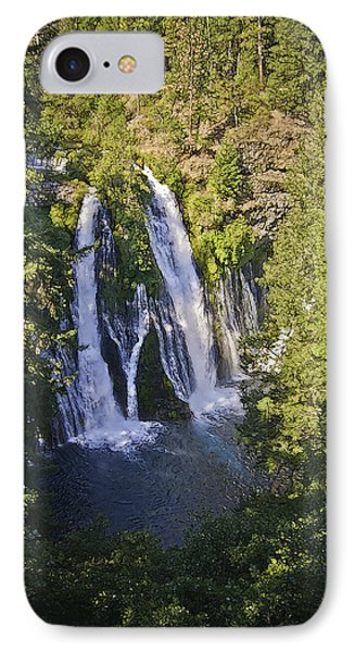 Mcarthur-burney Falls IPhone Case by Sherri Meyer