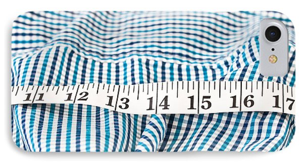 Measuring Tape IPhone Case by Tom Gowanlock