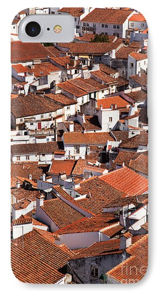Medieval Town Rooftops Phone Case by Jose Elias - Sofia Pereira