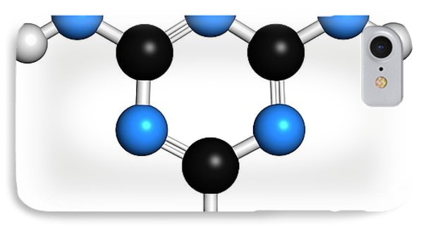 Melamine Molecule IPhone Case