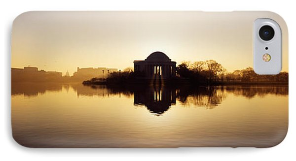Memorial At The Waterfront, Jefferson IPhone 7 Case by Panoramic Images