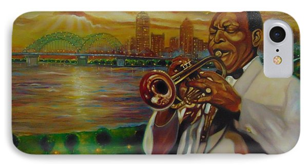 IPhone Case featuring the painting Memphis by Emery Franklin