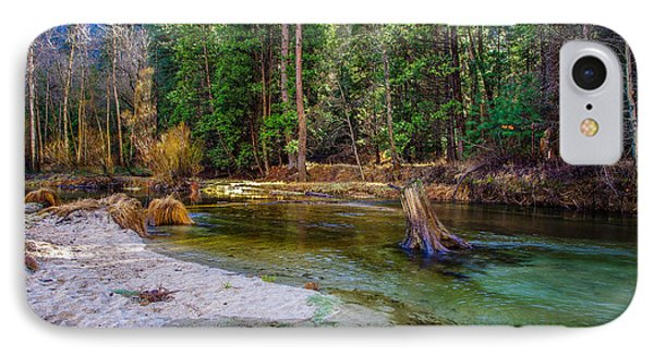 Merced River Yosemite National Park IPhone 7 Case by Scott McGuire