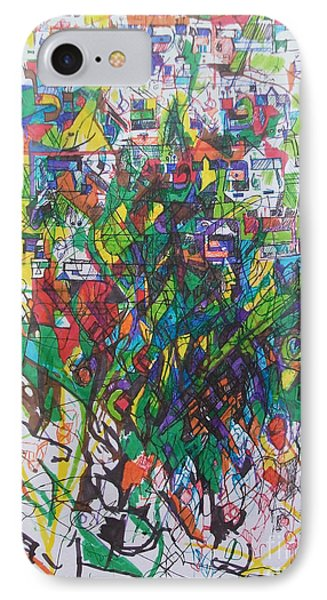 Meriting The Multitudes Phone Case by David Baruch Wolk