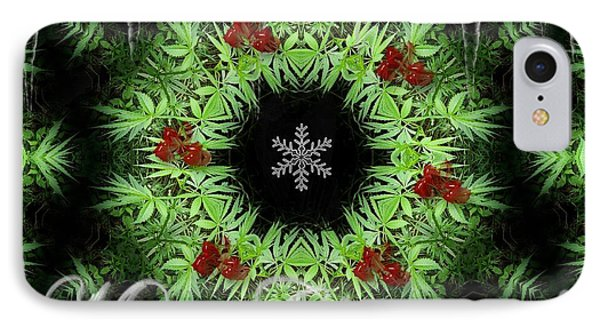 Merry Christmas IPhone Case by Robert Orinski